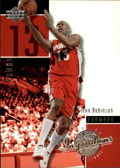 2002-03 Upper Deck Inspirations #3 Glenn Robinson