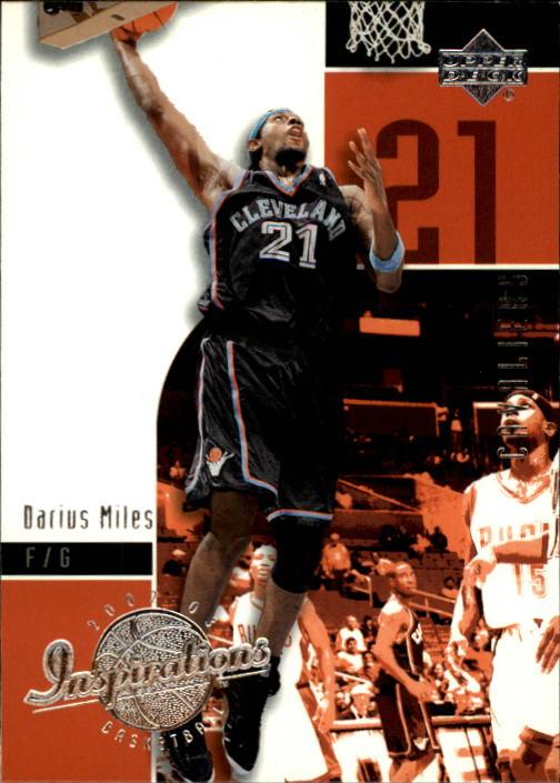 2002-03 Upper Deck Inspirations #13 Darius Miles