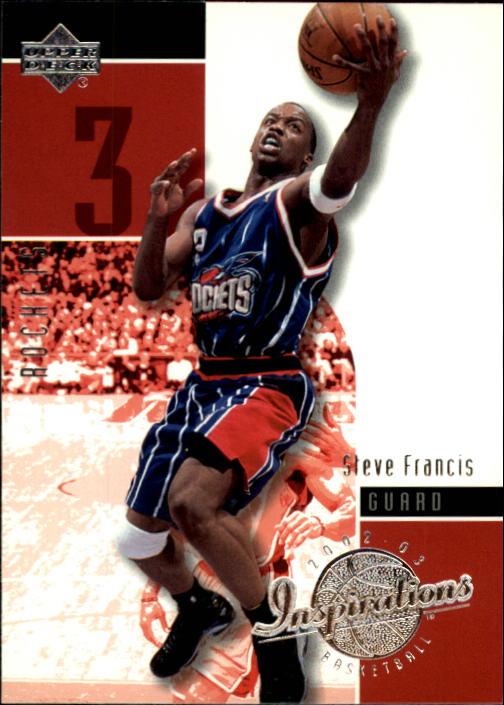 2002-03 Upper Deck Inspirations #26 Steve Francis