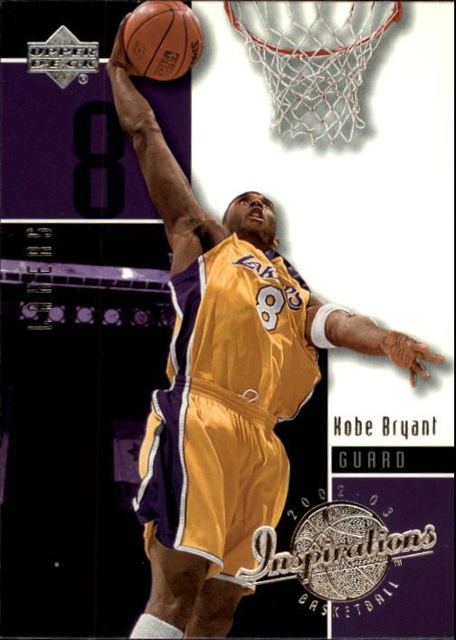 2002-03 Upper Deck Inspirations #35 Kobe Bryant