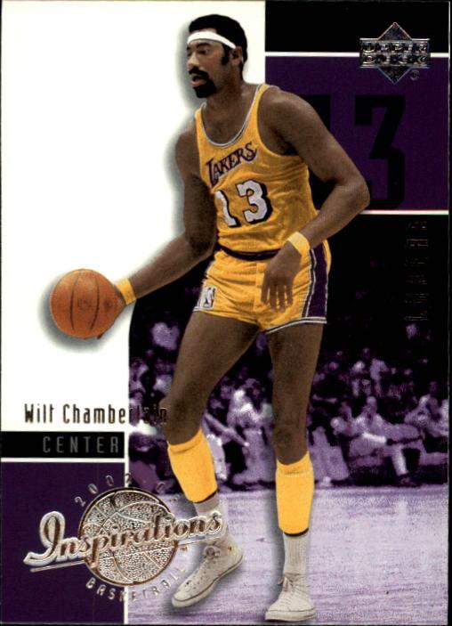 2002-03 Upper Deck Inspirations #37 Wilt Chamberlain
