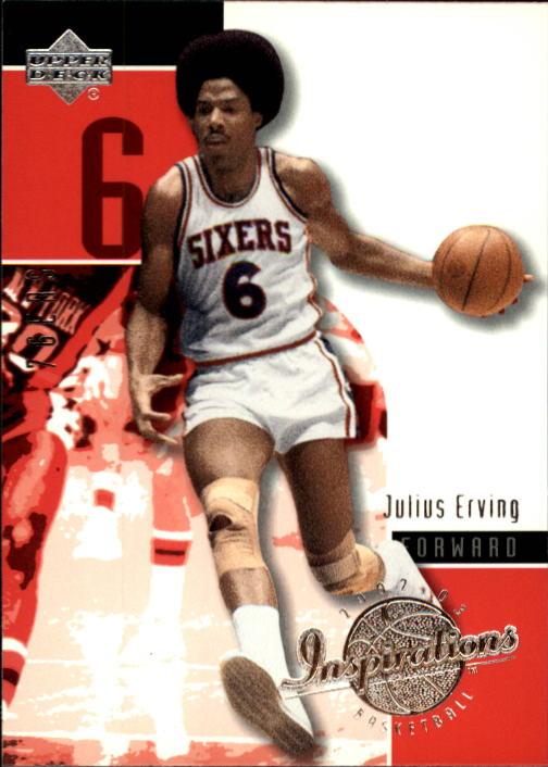 2002-03 Upper Deck Inspirations #64 Julius Erving