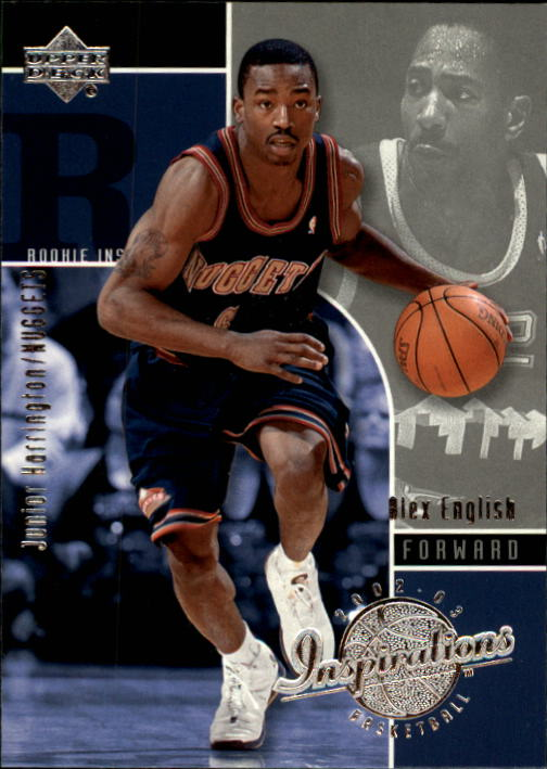2002-03 Upper Deck Inspirations #92 Junior Harrington RC/Alex English