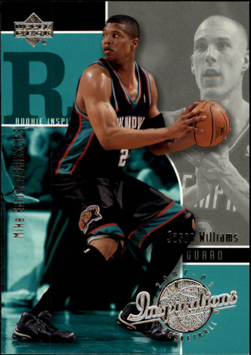 2002-03 Upper Deck Inspirations #97 Mike Batiste RC/Jason Williams