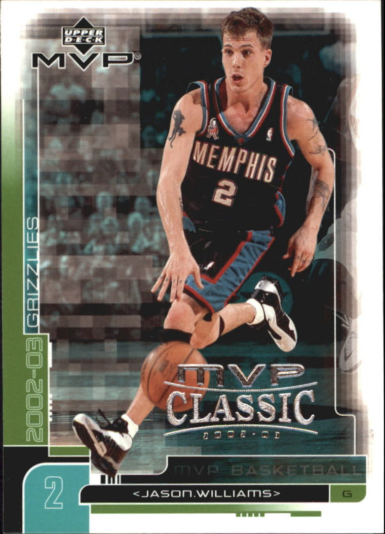 2002-03 Upper Deck MVP Classic #87 Jason Williams