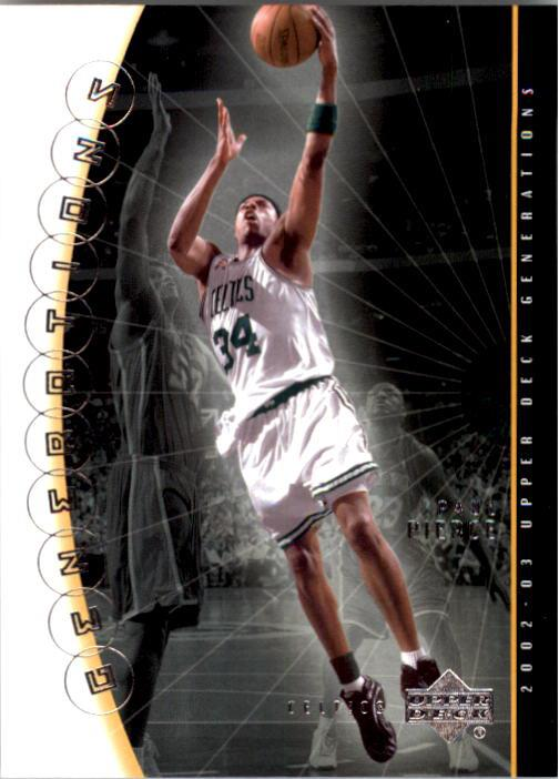 2002-03 Upper Deck Generations #2 Paul Pierce