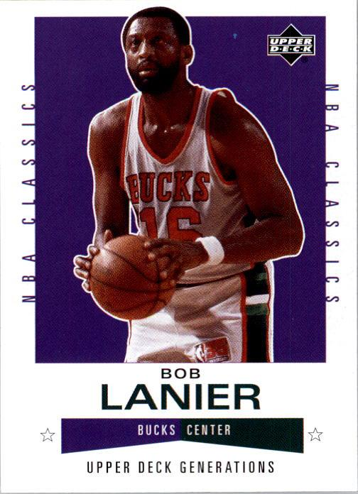2002-03 Upper Deck Generations #119 Bob Lanier