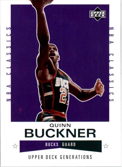 2002-03 Upper Deck Generations #123 Quinn Buckner
