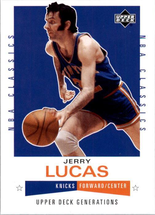 2002-03 Upper Deck Generations #127 Jerry Lucas