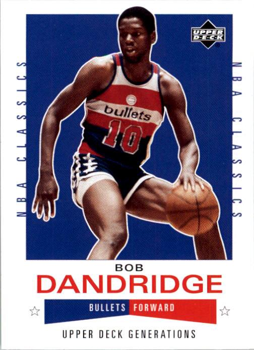 2002-03 Upper Deck Generations #155 Bobby Dandridge