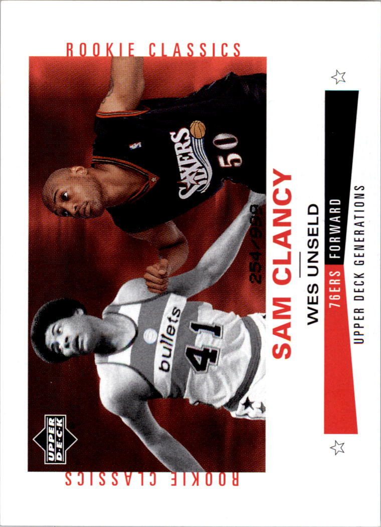 2002-03 Upper Deck Generations #232 Sam Clancy/Wes Unseld