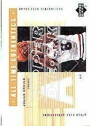 2002-03 Upper Deck Generations All-Time Authentics #JE2A Julius Erving White