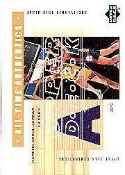2002-03 Upper Deck Generations All-Time Authentics #KAA Kareem Abdul-Jabbar