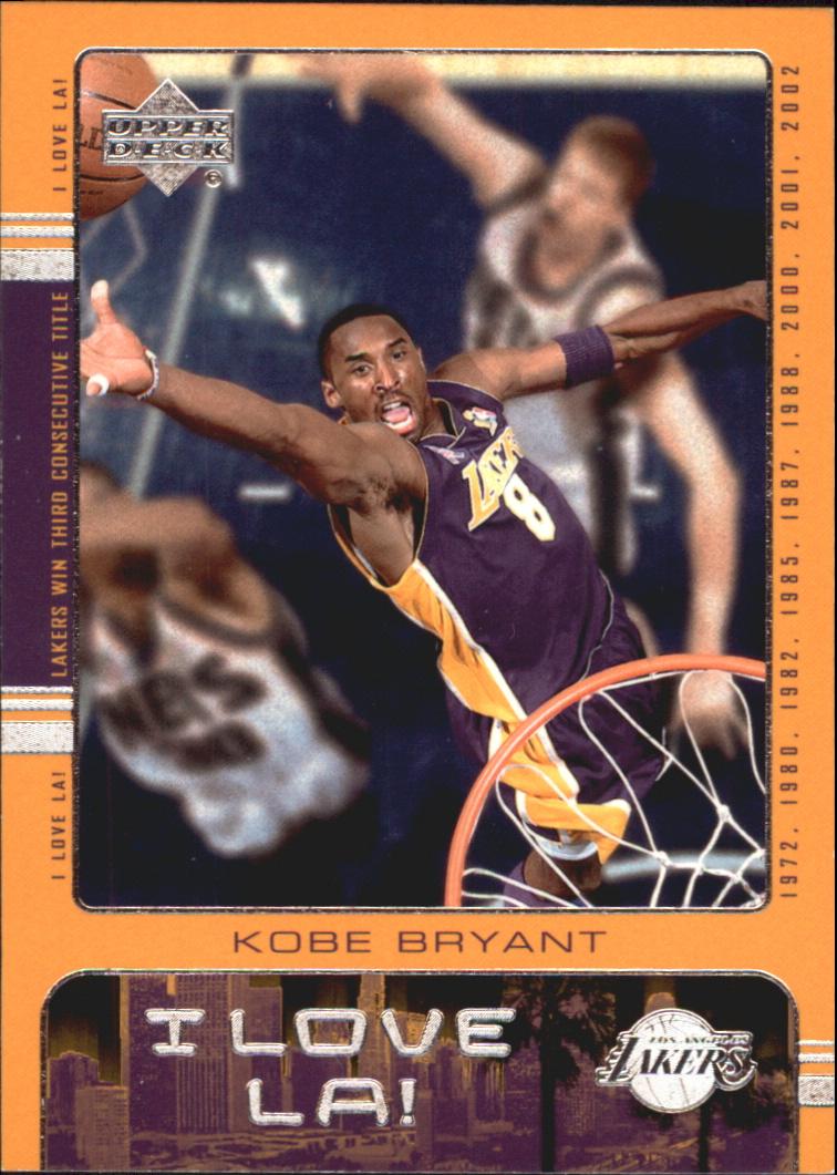 2002-03 Upper Deck I Love L.A. #LA1 Kobe Bryant