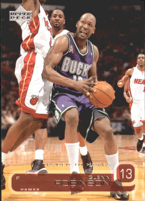 2002-03 Upper Deck #3 Glenn Robinson