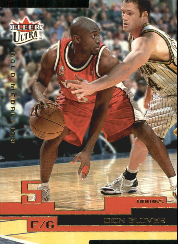 2002-03 Ultra Gold Medallion #7 Dion Glover