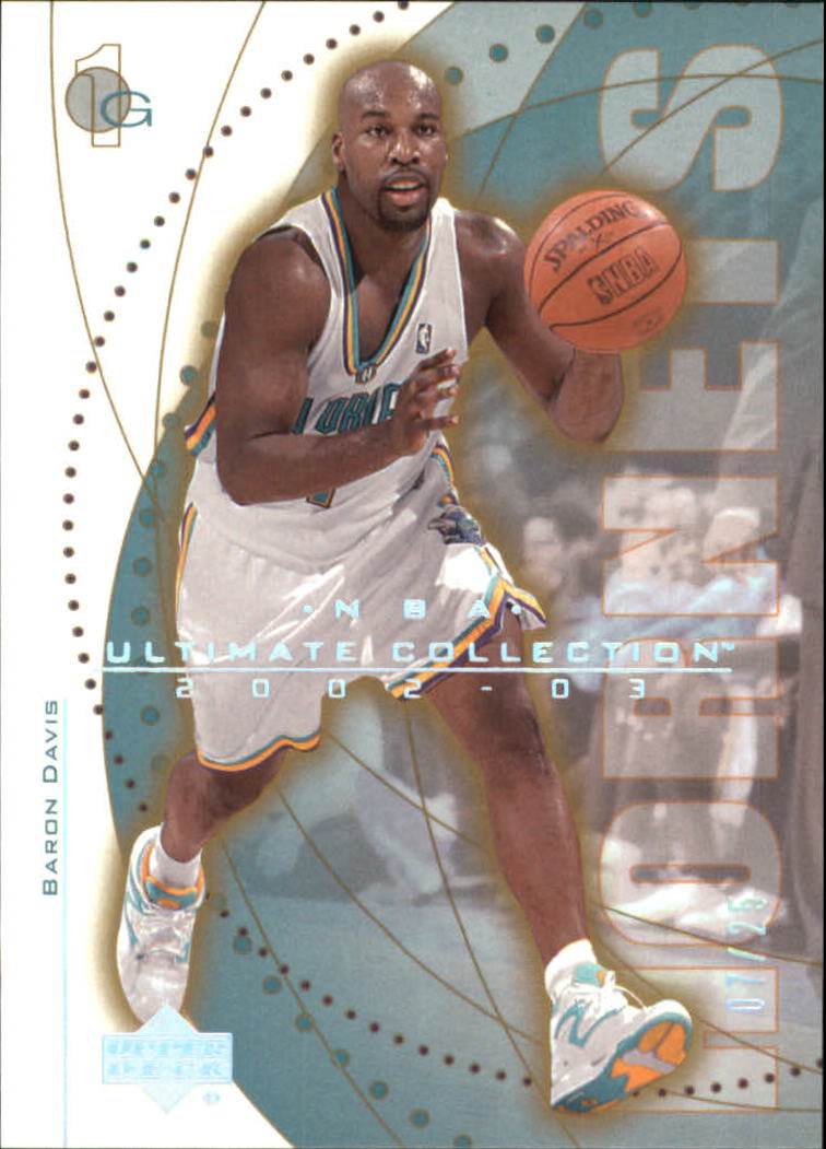 2002-03 Ultimate Collection Ultimate Parallel #39 Baron Davis