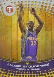 2002-03 Topps Pristine Refractors #76 Amare Stoudemire U