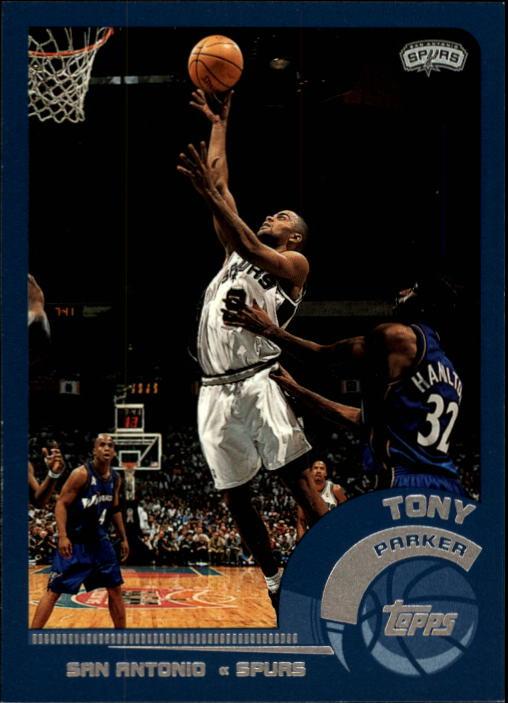2002-03 Topps #118 Tony Parker