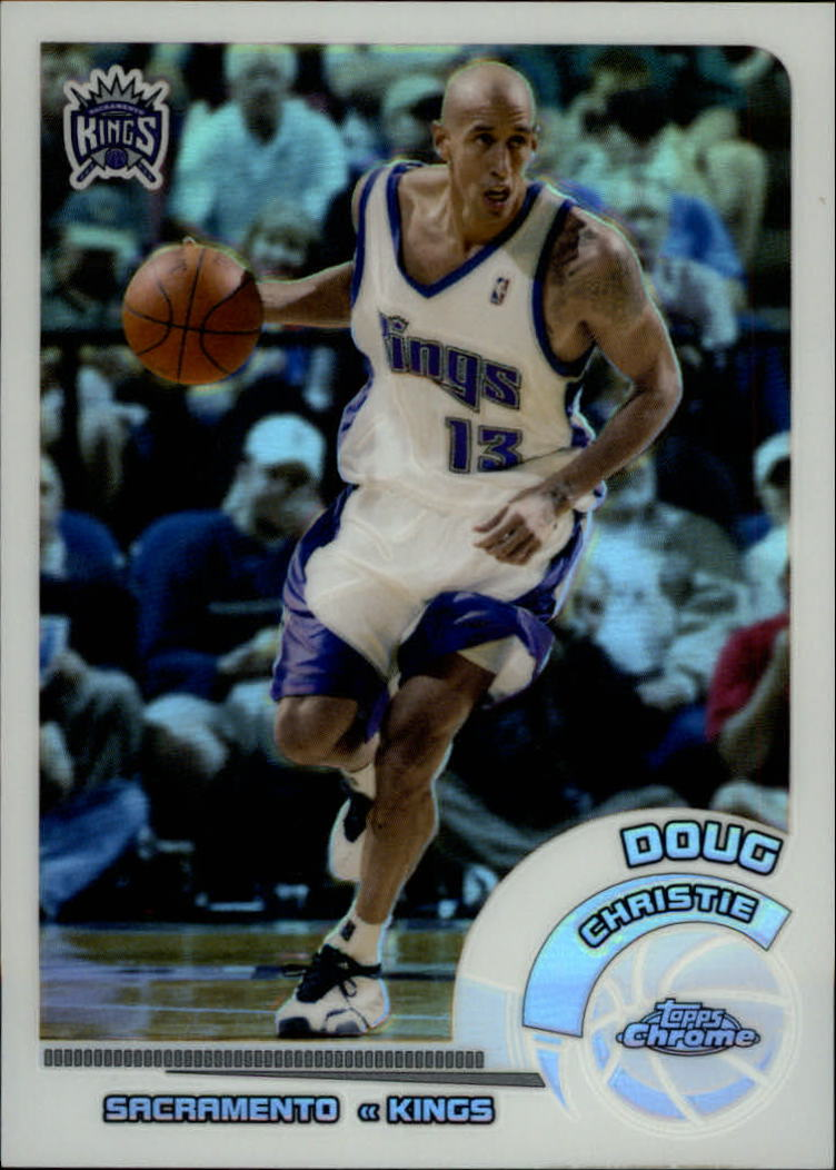 2002-03 Topps Chrome Refractors White Border #68 Doug Christie