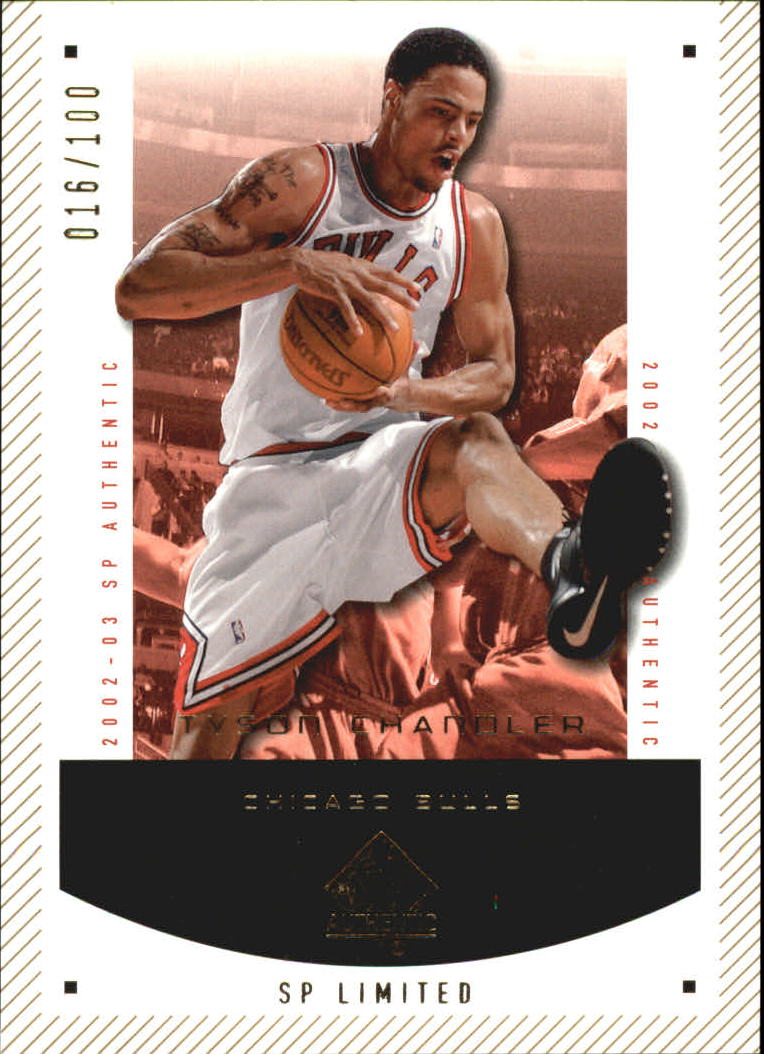 2002-03 SP Authentic Limited #11 Tyson Chandler