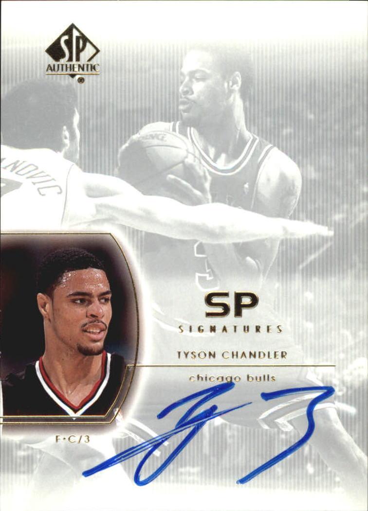 2002-03 SP Authentic SP Signatures #TC Tyson Chandler