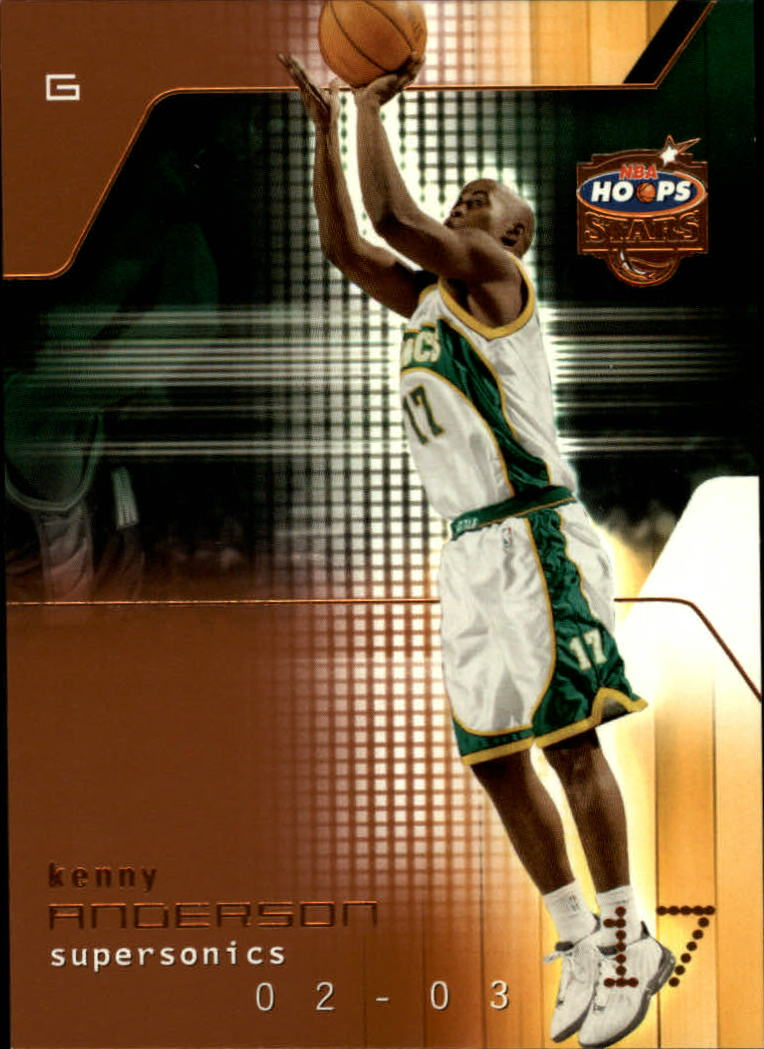 2002-03 Hoops Stars Five-Star #7 Kenny Anderson
