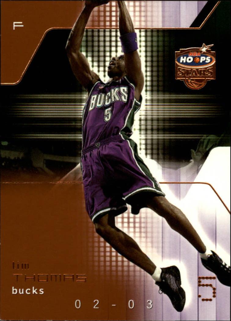 2002-03 Hoops Stars Five-Star #14 Tim Thomas
