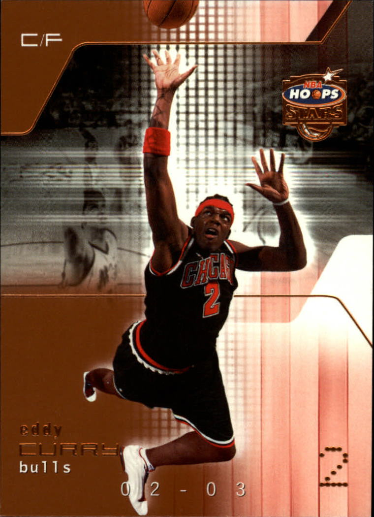 2002-03 Hoops Stars Five-Star #17 Eddy Curry