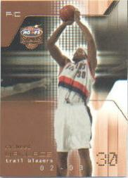 2002-03 Hoops Stars Five-Star #30 Rasheed Wallace