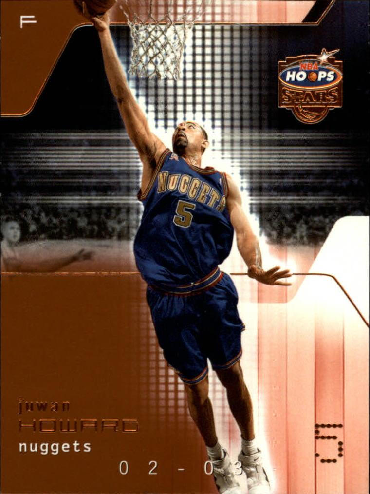 2002-03 Hoops Stars Five-Star #32 Juwan Howard