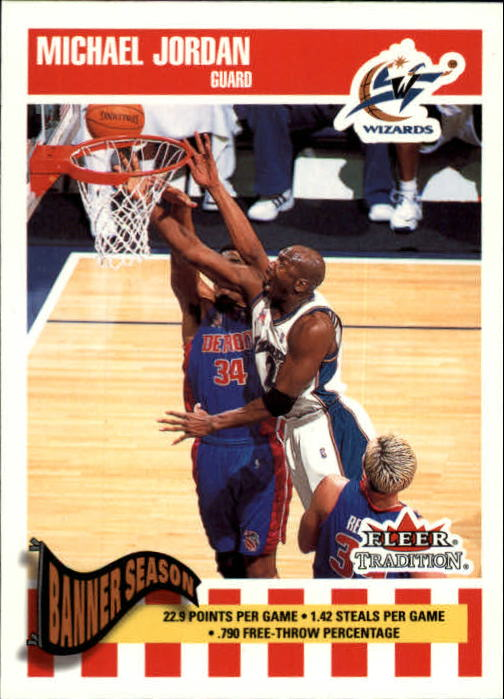 2002-03 Fleer Tradition #270 Michael Jordan
