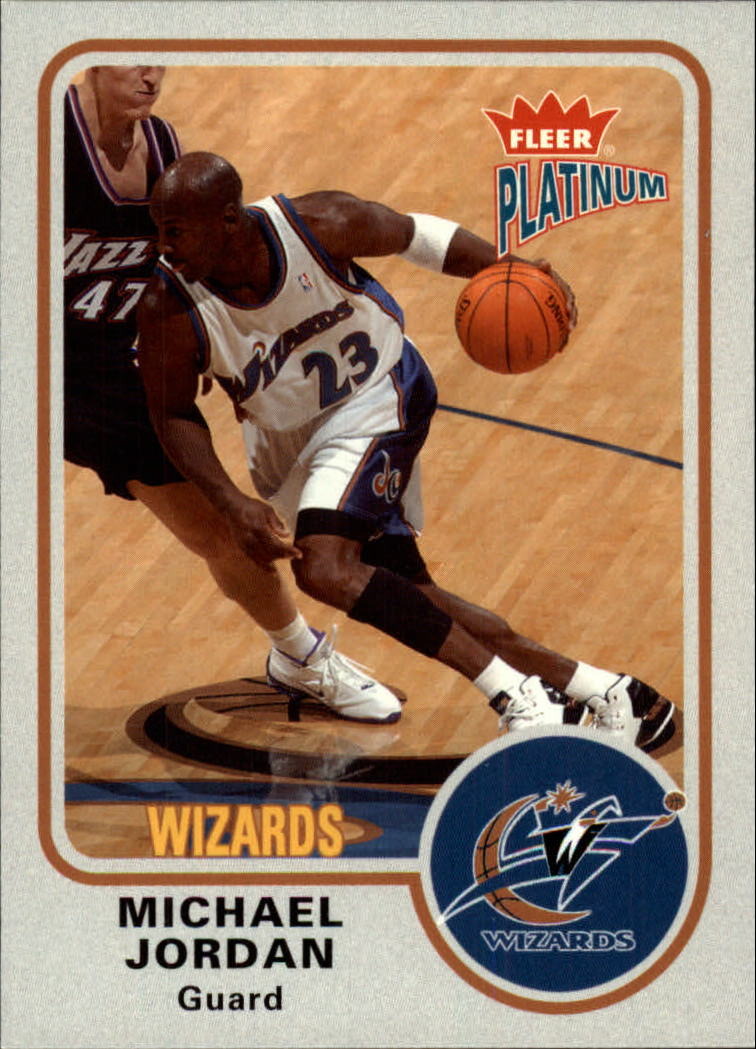 2002-03 Fleer Platinum #91 Michael Jordan