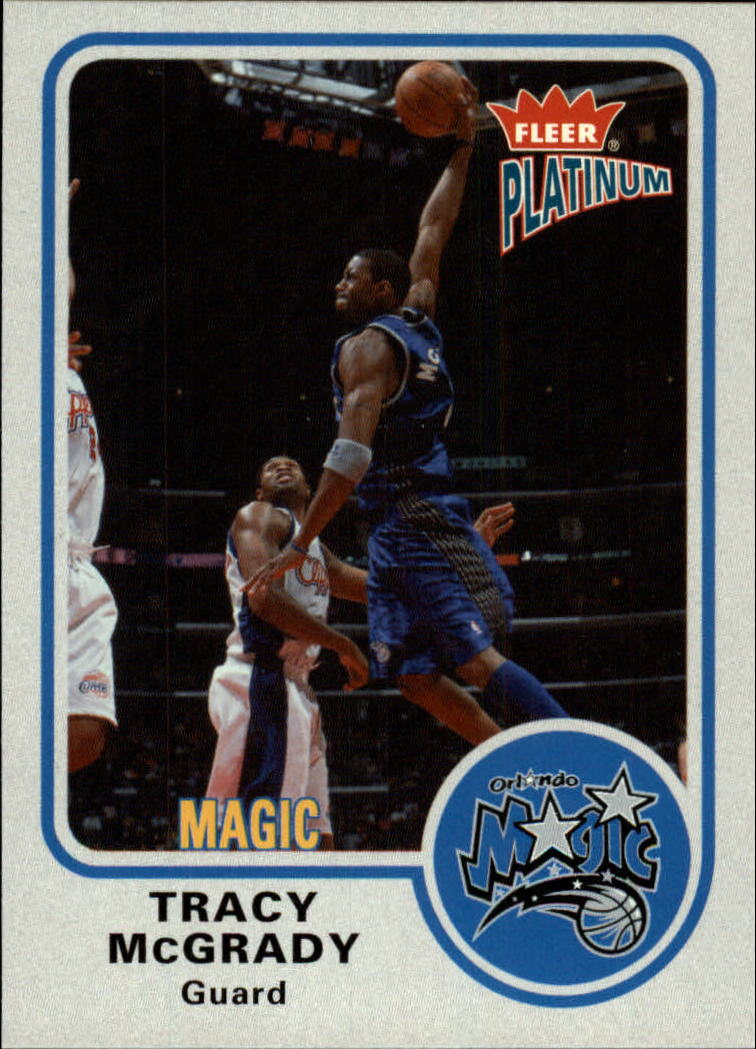 2002-03 Fleer Platinum #112 Tracy McGrady
