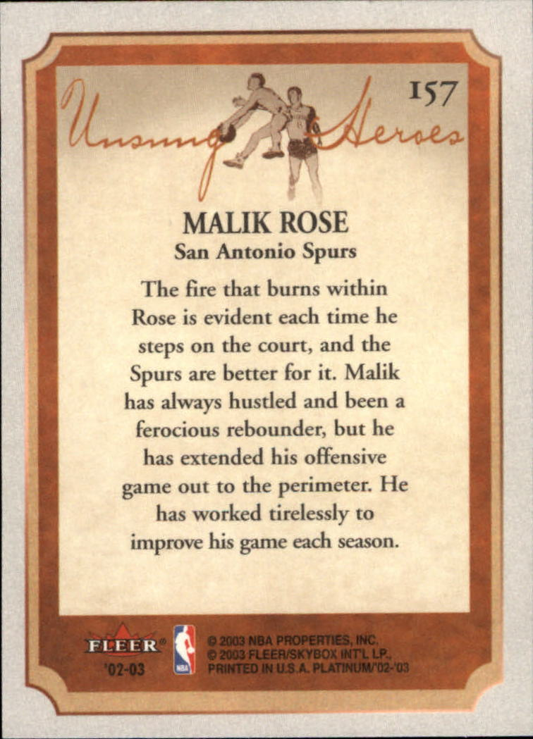 2002-03-Fleer-Platinum-Basketball-Cards-Pick-From-List thumbnail 313