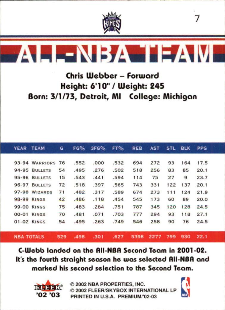 2002-03-Fleer-Premium-Basketball-Cards-Pick-From-List thumbnail 11