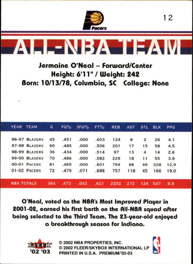 2002-03-Fleer-Premium-Basketball-Cards-Pick-From-List thumbnail 19