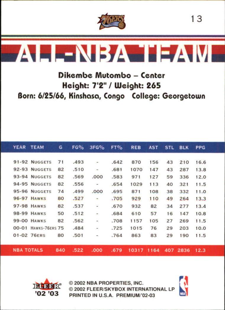 2002-03-Fleer-Premium-Basketball-Cards-Pick-From-List thumbnail 21