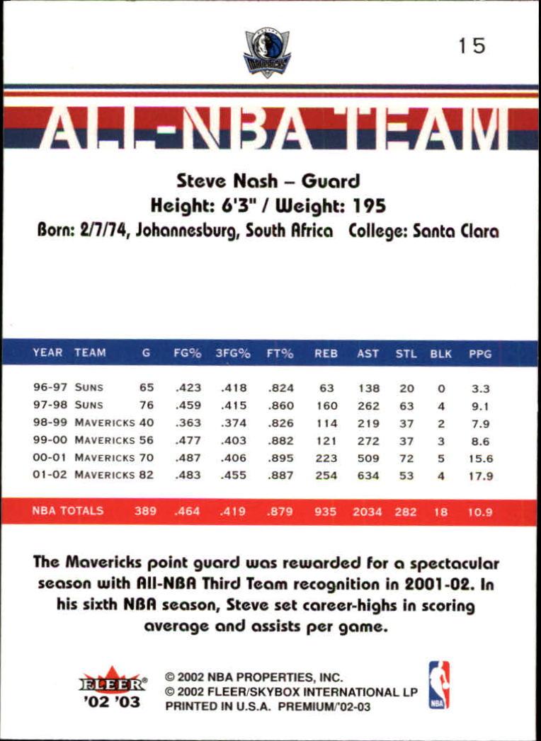 2002-03-Fleer-Premium-Basketball-Cards-Pick-From-List thumbnail 23