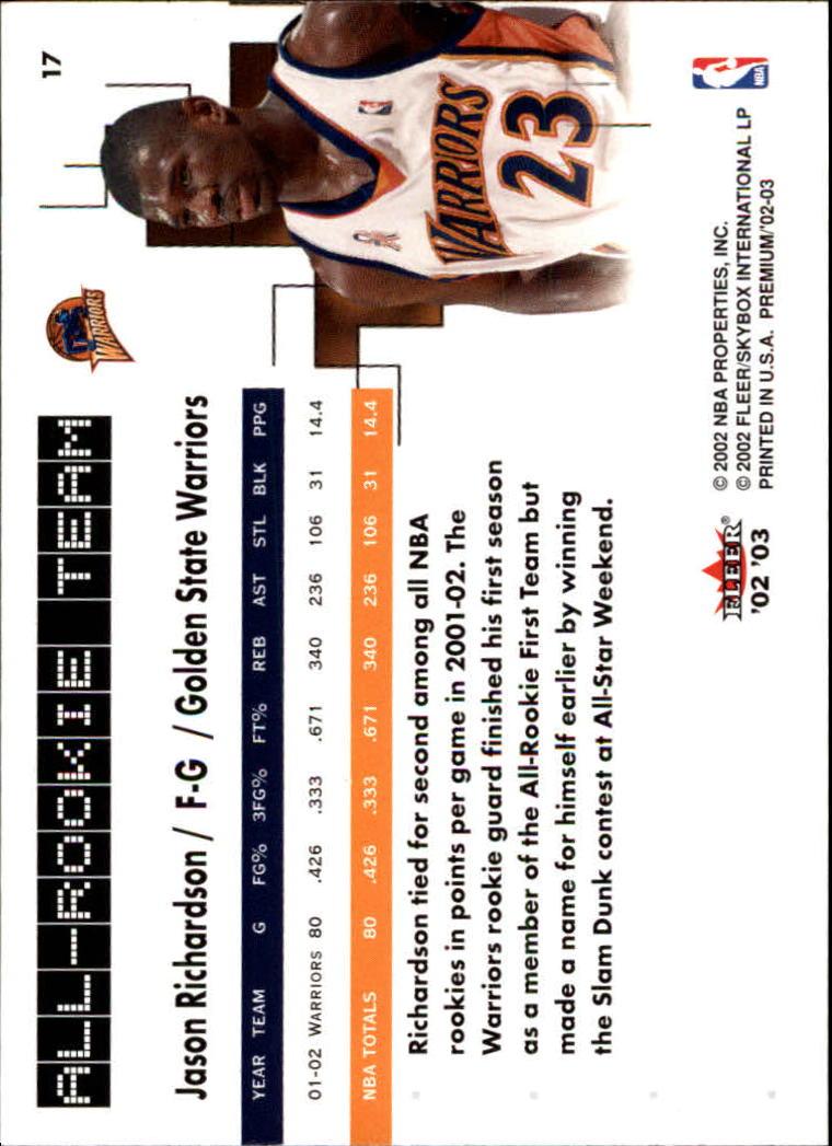 2002-03-Fleer-Premium-Basketball-Cards-Pick-From-List thumbnail 27