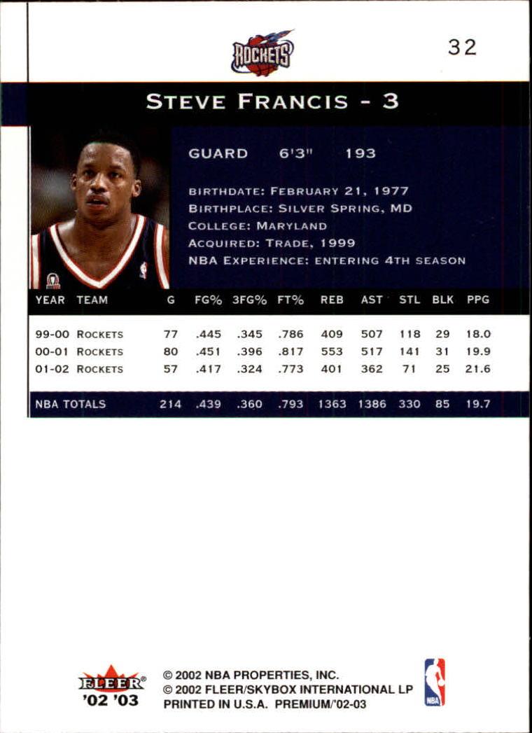 2002-03-Fleer-Premium-Basketball-Cards-Pick-From-List thumbnail 55
