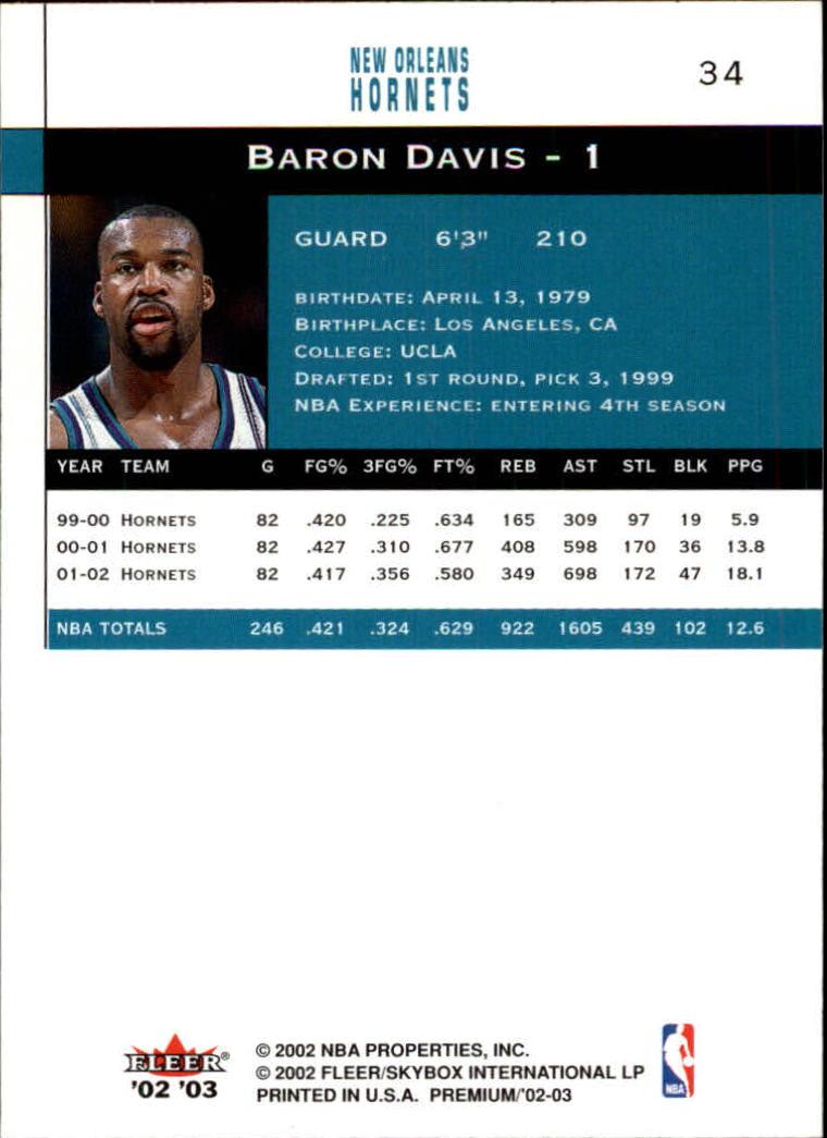 2002-03-Fleer-Premium-Basketball-Cards-Pick-From-List thumbnail 59