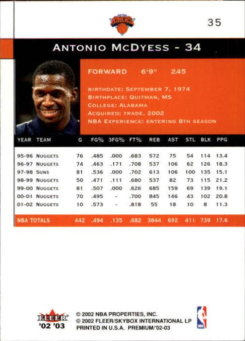 2002-03-Fleer-Premium-Basketball-Cards-Pick-From-List thumbnail 61