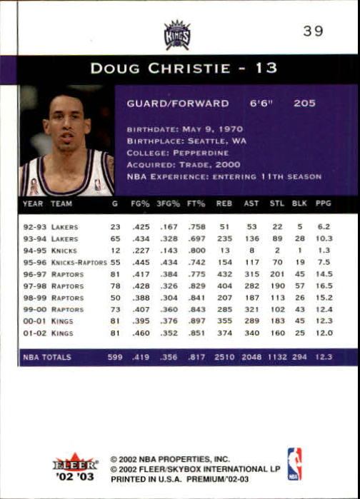 2002-03-Fleer-Premium-Basketball-Cards-Pick-From-List thumbnail 67