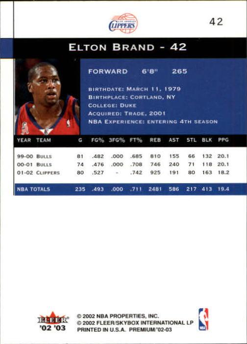 2002-03-Fleer-Premium-Basketball-Cards-Pick-From-List thumbnail 73