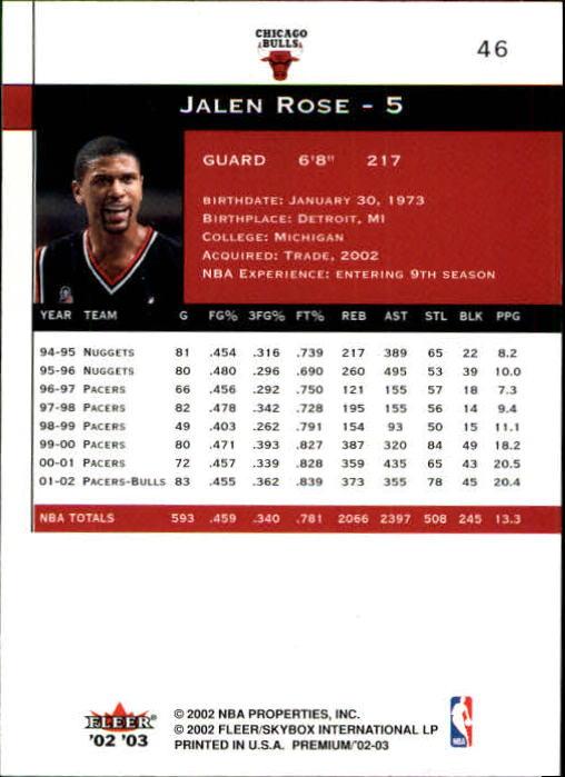 2002-03-Fleer-Premium-Basketball-Cards-Pick-From-List thumbnail 81