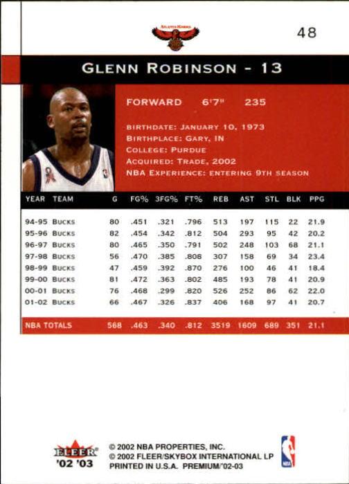 2002-03-Fleer-Premium-Basketball-Cards-Pick-From-List thumbnail 85