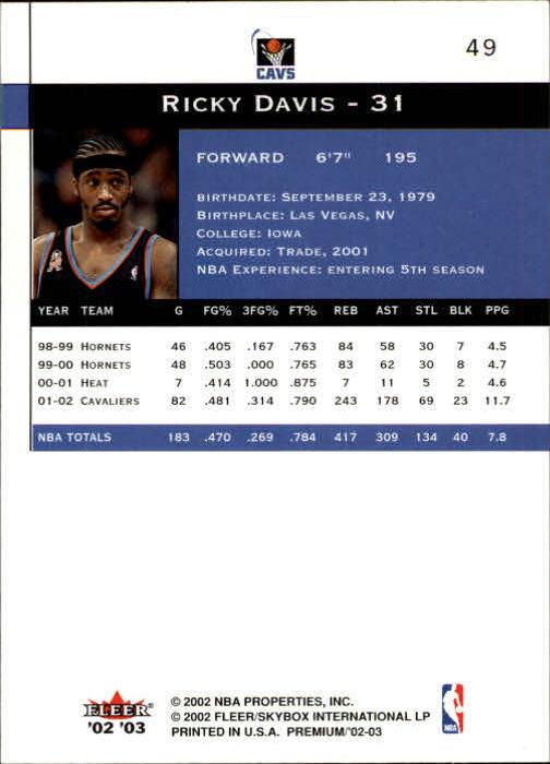 2002-03-Fleer-Premium-Basketball-Cards-Pick-From-List thumbnail 87