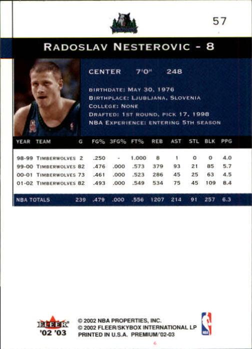 2002-03-Fleer-Premium-Basketball-Cards-Pick-From-List thumbnail 103