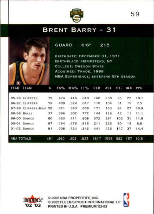 2002-03-Fleer-Premium-Basketball-Cards-Pick-From-List thumbnail 107